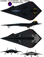 FA-70 Panther gear deployed by bagera3005
