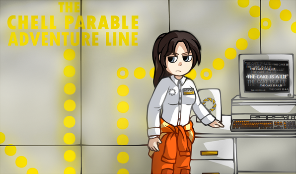 Portal and The Stanley parable games crossover lol by R1nRina