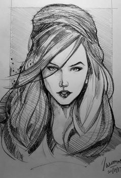 casual sketch by wallacedestiny