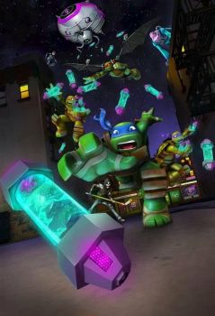 TMNT 2012 SEASON 2 !!! by ShadowandEspio1