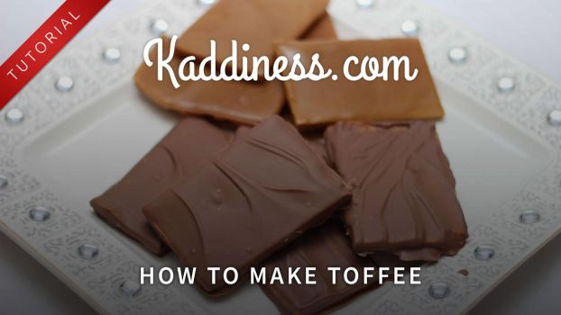 How to make Toffee! by Kaddiness