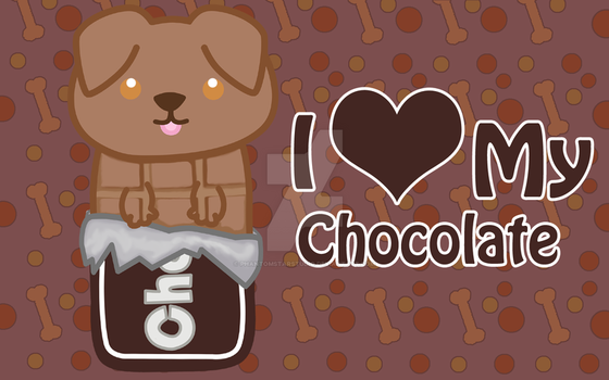 Chocolate Lap Chocolate Bar by PhantomStarStudio