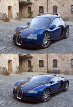 Carnocchio Veyron by carlosnumbertwo