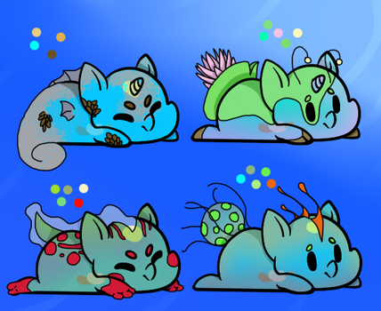 New Born Jelly Baby DTA Event Adopts 3/4 OPEN by Darumemay