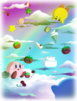 Kirby's Dream Feast by Icy-Snowflakes