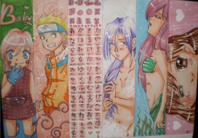 Book Marks 2 by Tamoko