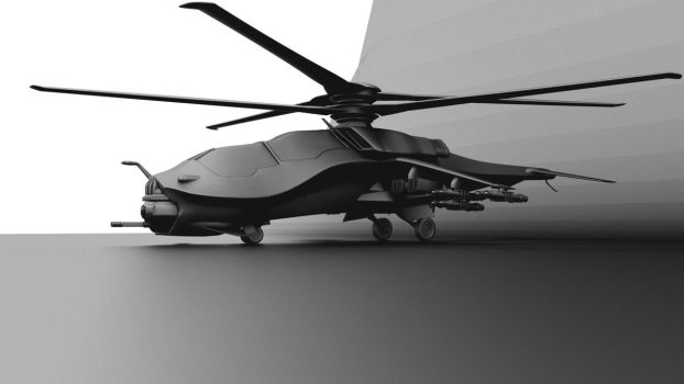 Future Helicopter by forgedOrder