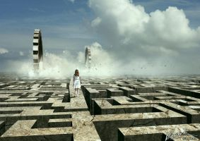 The destruction of space. by vimark