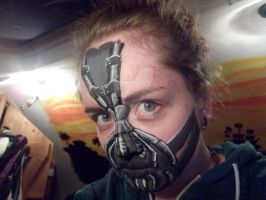 Bane Facepaint by CandyNapkin
