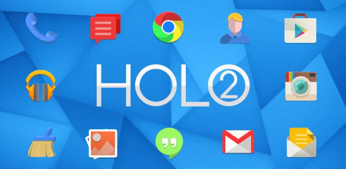 Holo2 - Android Premium Icon Pack by d-bliss
