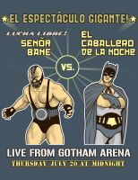 Gotham Lucha Libre by ninjaink