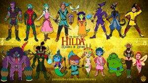Legacy of Hilda: OXarina of Rhyme by AnutDraws