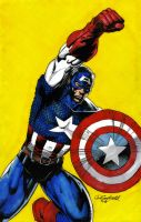 Captain America by ShiftyMcCan