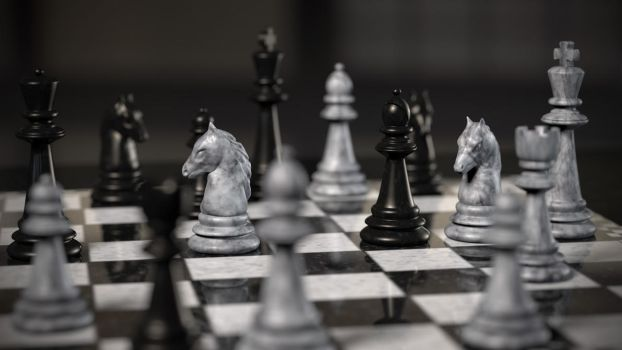 game of chess by frequenzlos