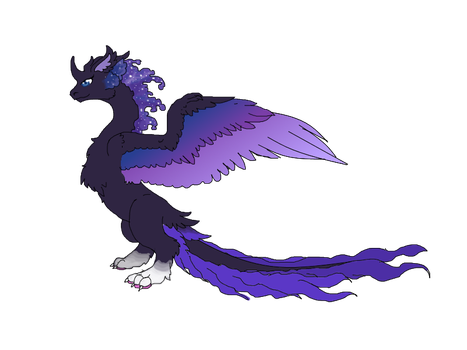 Vel Dragon Form by kittenAX