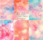 Bubblegum - WATERCOLOR STOCK PACK by AuroraWienhold