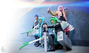 Vocaloid Shingeki No Kyojin :: Rainbow Recon Corps by xxDorii