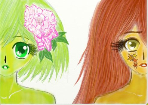 Spring and Autumn by CharmingCharm