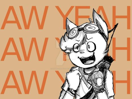 Aw Yeah by XPyro-Undead