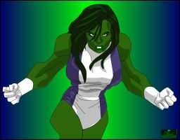 She-Hulk by hotrod5