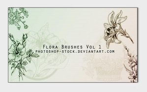 Floral - PS Brushes by photoshop-stock
