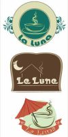 La luna cafe logo by sweeta18