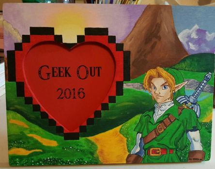 Zelda Picture Frame  by aperfectmjk