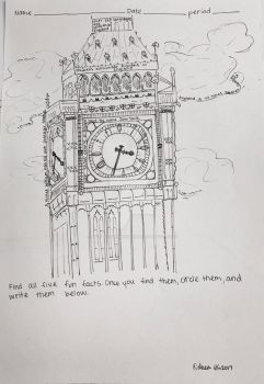 Big Ben Coloring Page by JustKeepSwimminNemo