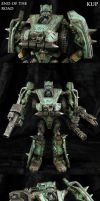 End of the Road Transformers Kup by Jin-Saotome