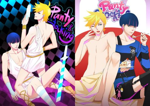 Panty and Stocking by gtako