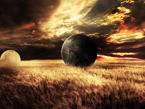 Space in earth by TheGaMe2012