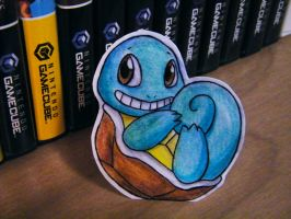 Paper Squirtle