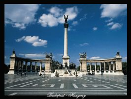 Heroes' Square, Budapest by hungarians