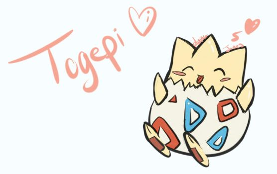 Togepi by lunabluebarry