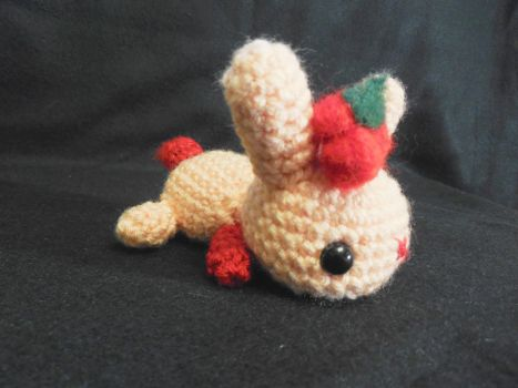 Little Cherry Bunny by kiwicrochet