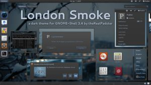 London Smoke Gnome-Shell by theRealPadster