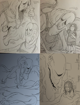 Lurker Sketches by Cageyshick05