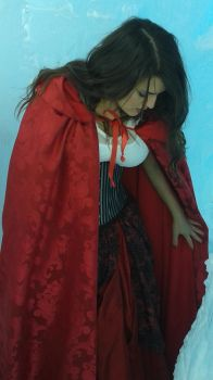 Red from Once Upon a Time Costume - Ice Castles 3 by PhoenixForce85