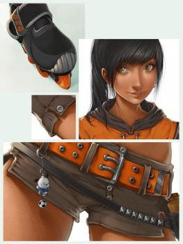 Bebe Adame detail shots by Charlie-Bowater