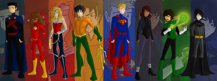 The Justice League Of Olympus! by Maygirl96