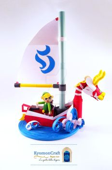 Quilling The Legend of Zelda - The Wind Waker by kyomoncraft