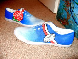 Rugby themed customs by bec66ky
