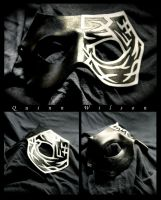 Black and White Mask by Drocan