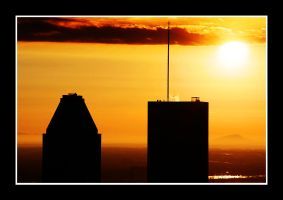 Montreal sunrise 2 by P-Photographie