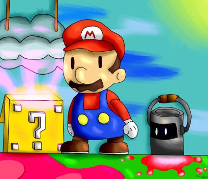 Paper Mario Color Splash by Radrim