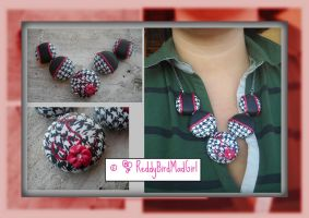 Pied-de-Poul Collection: Necklace by ReddyBirdMadGirl