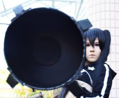 Black Rock Shooter - Go for the kill by jatek