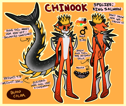 Chinook Reference by NeppyNeptune