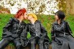 Akuroku and Xion - What the f- by Achico-Xion