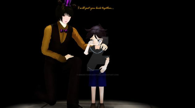 [MMD] FNaF 4 Ending by MMDMotionsAndPoses
